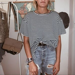 Basic stripped tee
